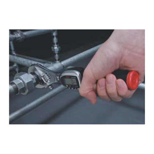 Plumbing is just one of the applications for the digital adjustable torque wrench