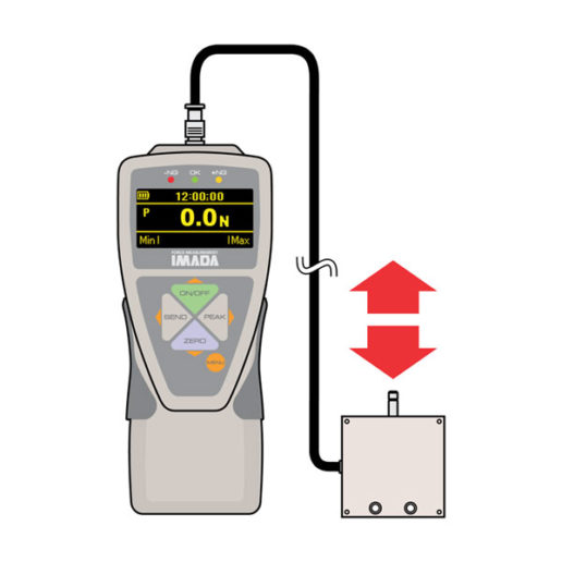 zta-dpu digital force gauge with remote sensor