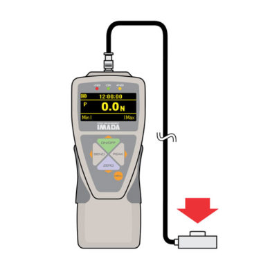 zta-lm digital force gauge with button sensor