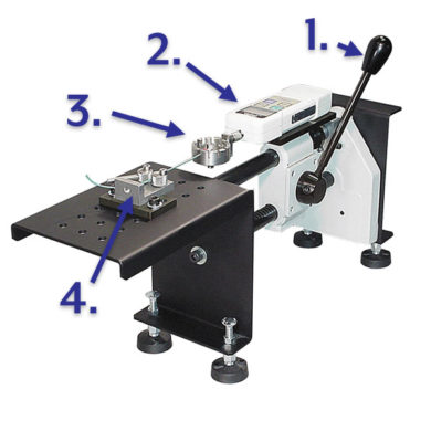 Lever Operated Horizontal Crimp Tester