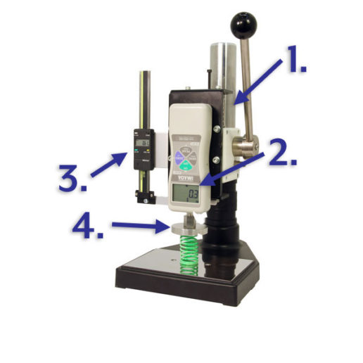 svl lever operated compression spring tester