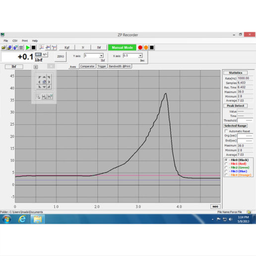 ZP Recorder Data Acquisition Software