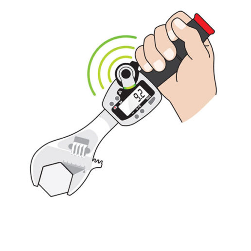 Wireless Digital Adjustable Torque Wrench Application