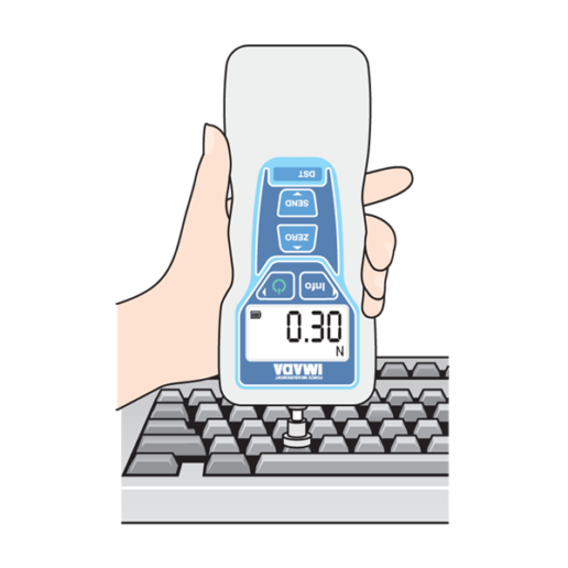 DST digital force gauge testing keyboard