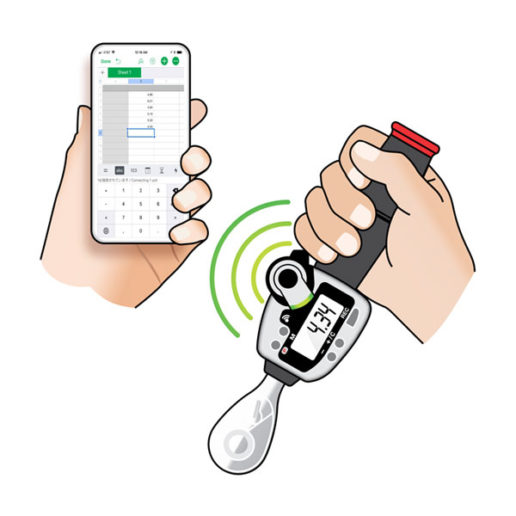 Wireless Torque Wrench for iPhone®