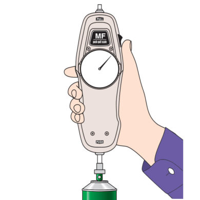 MF Mechanical Force Gauge Application