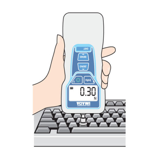 DST Digital Force Gauge Keyboard Application